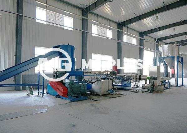 Plastic Pelletizing Machine