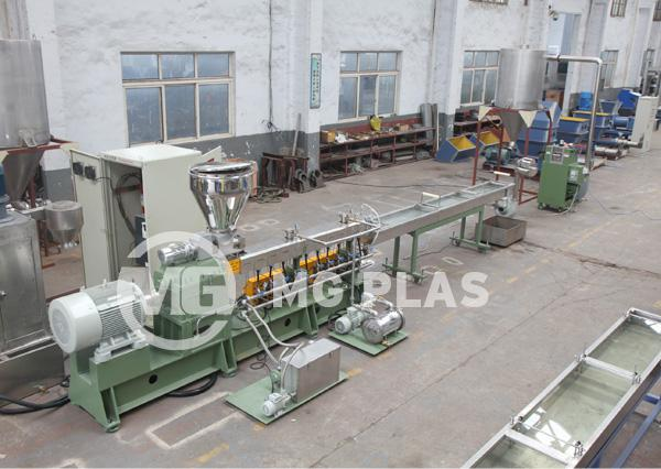 Twin Screw Strand Plastic Pelletizer