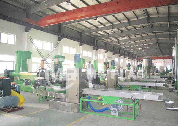 PE PP Film Granulating Line