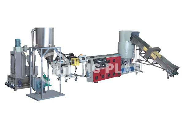 Water-Ring Plastic Pelletizer