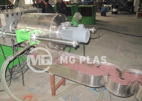 Water-Ring Plastic Pelletizer
