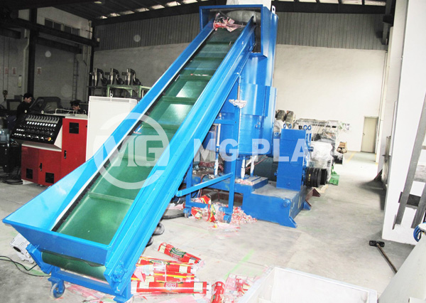 Water-Ring Plastic Granulator