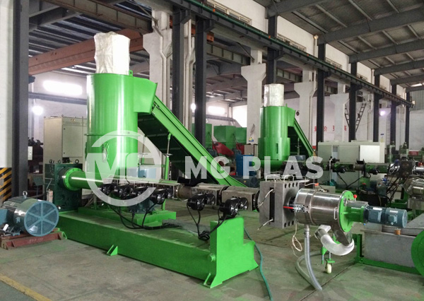 PE PP Film Granulating Machine