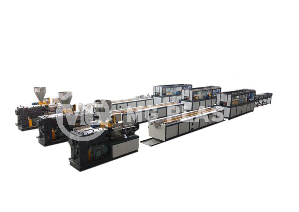 WPC Deck Extrusion Line