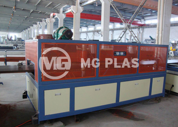 WPC Wide Board Extrusion Line