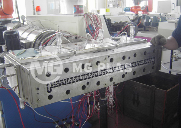 PVC Sill Board Extrusion Line