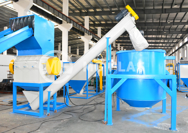 PET Bottle Recycling Machine