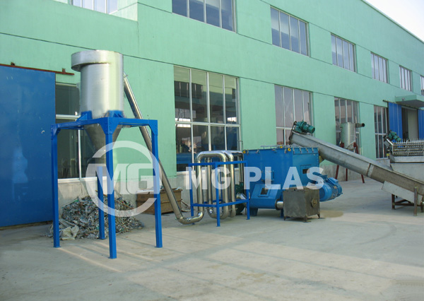 PE PP Film Washing Line