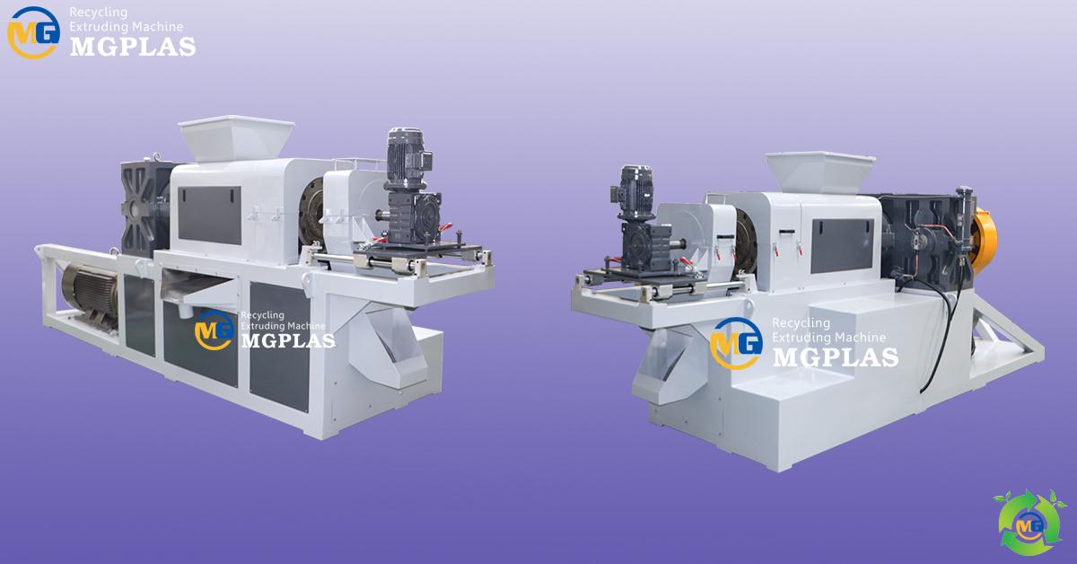 pe pp plastic film squeezing agglomerating machine densifier