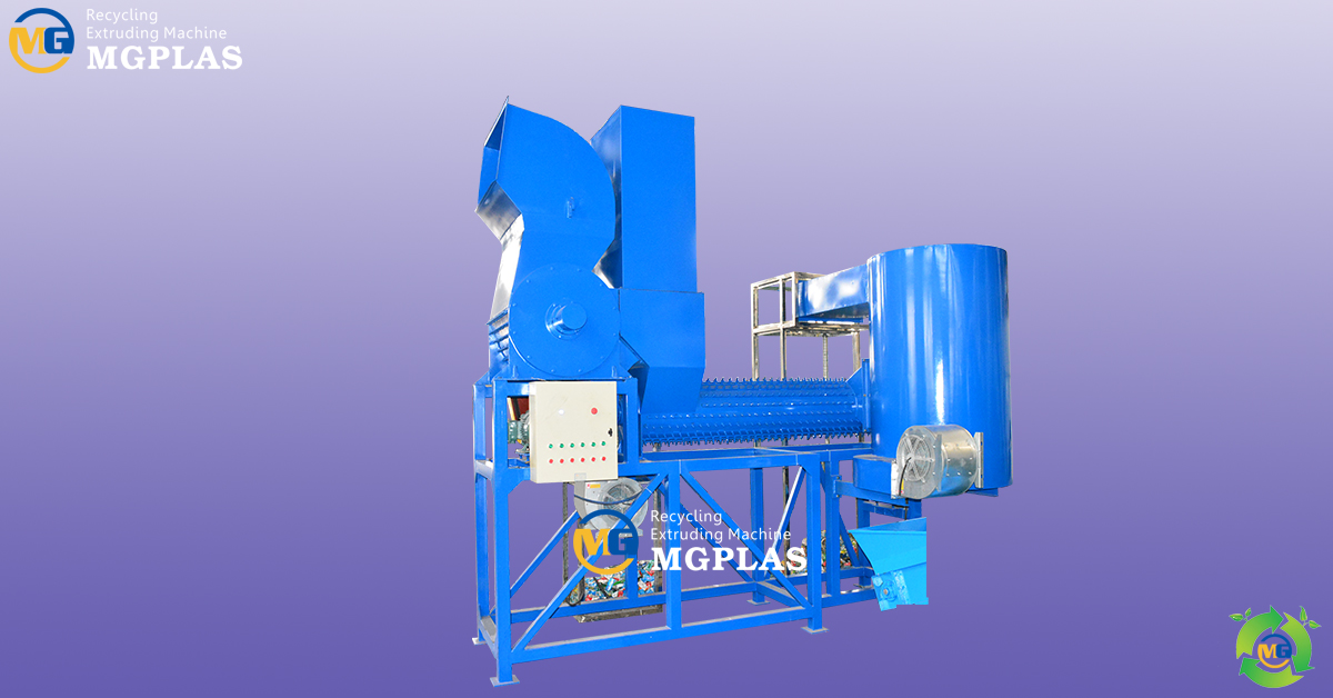 Good quality pet bottle label and cap removing machine (2019)
