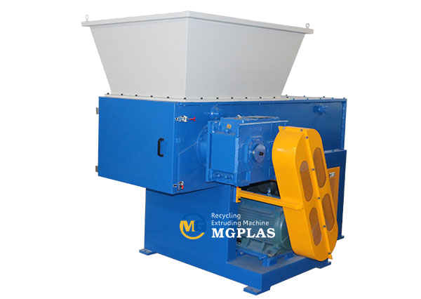 single shaft plastic chipper shredder machine