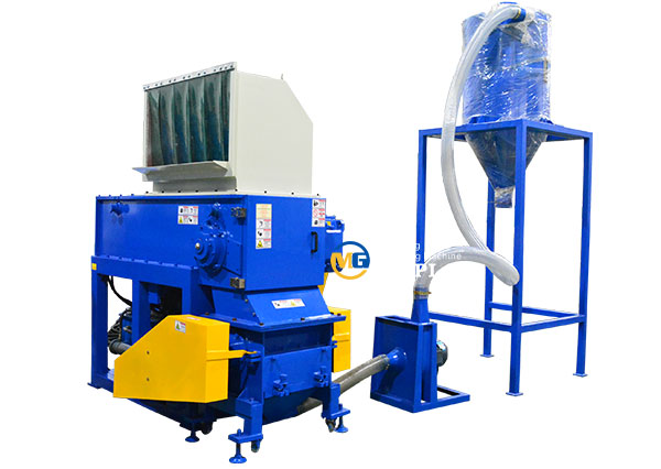 plastic lumps shredder crusher machine
