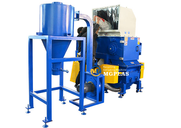 HDPE PVC pipe plastic shredder grinder crusher machine