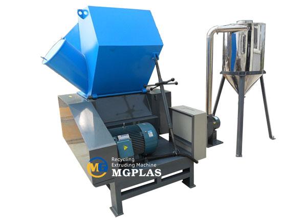 PC plastic crusher machine for hard plastic materials