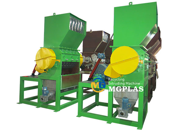 crusher plastic machine