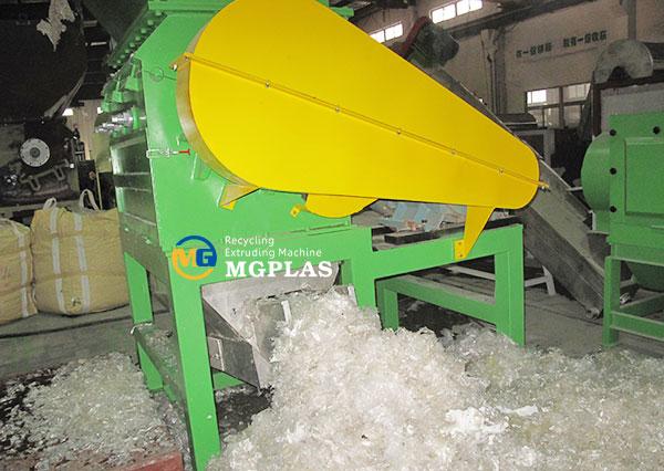 PE PP BOPP plastic film crusher machine