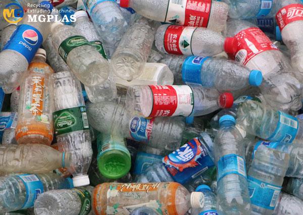 Hot sale plastic water bottle crusher machine for waste PET bottles