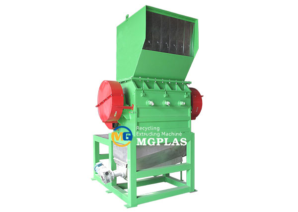 Hot sale plastic milk bottle crusher machine for waste HDPE bottles